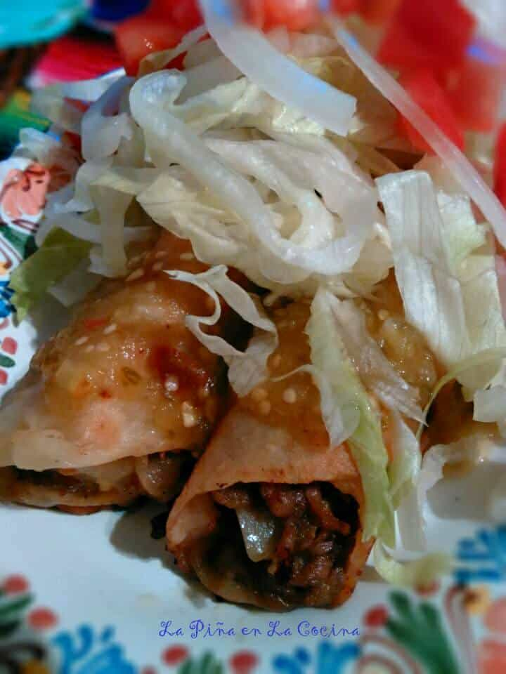 Potato and Beef-Hot Green #potatoandbeef #mexicanfood #ramonas