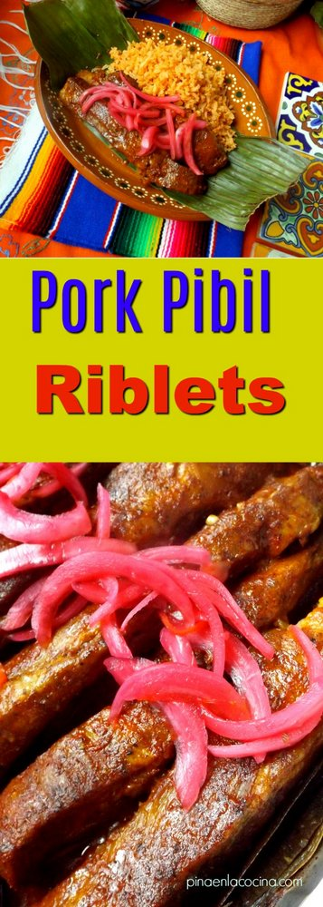 Pork Pibil Riblets #pibil #porkribs