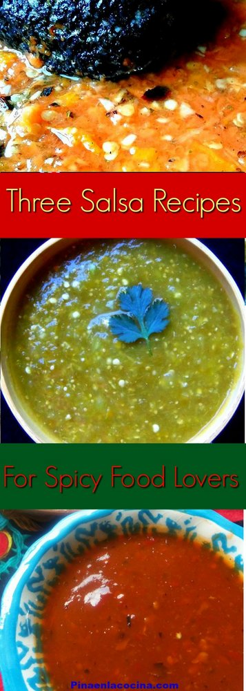 Three Salsa Recipes For Spicy Food Lovers #salsarecipes #spicyfood