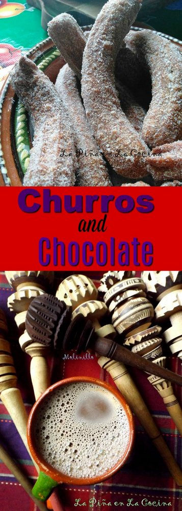 Churros and Chocolate #churros #mexicanchocolate
