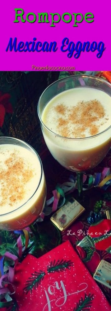 Rompope(Mexican Eggnog) #rompope
