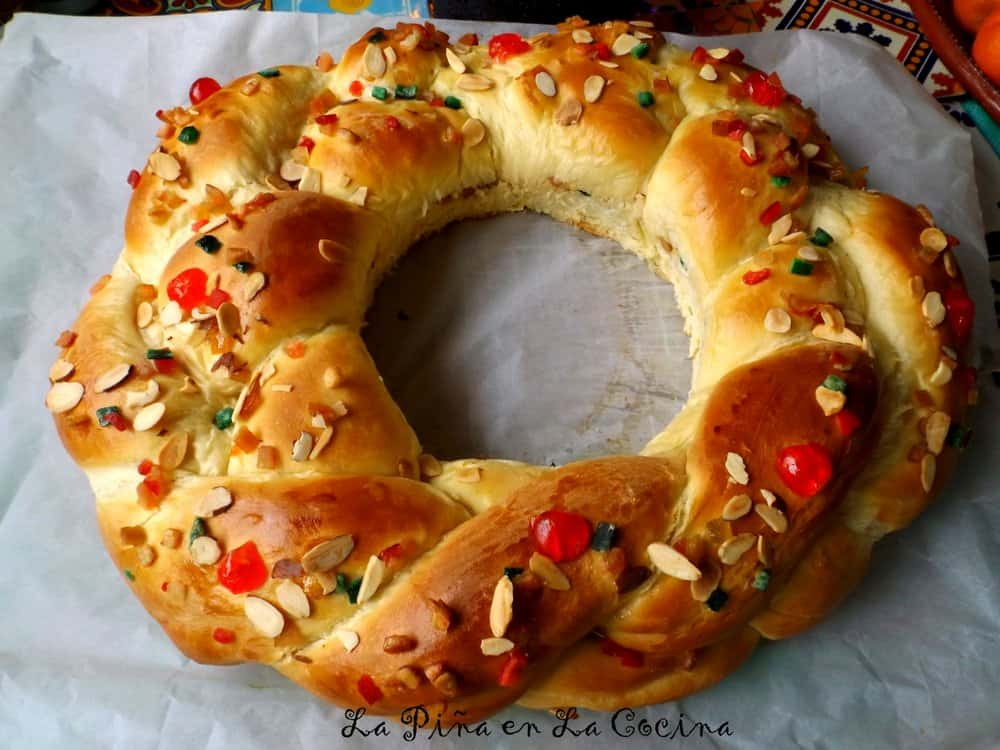 Rosca de Reyes(Three Kings Bread) #roscadereyes