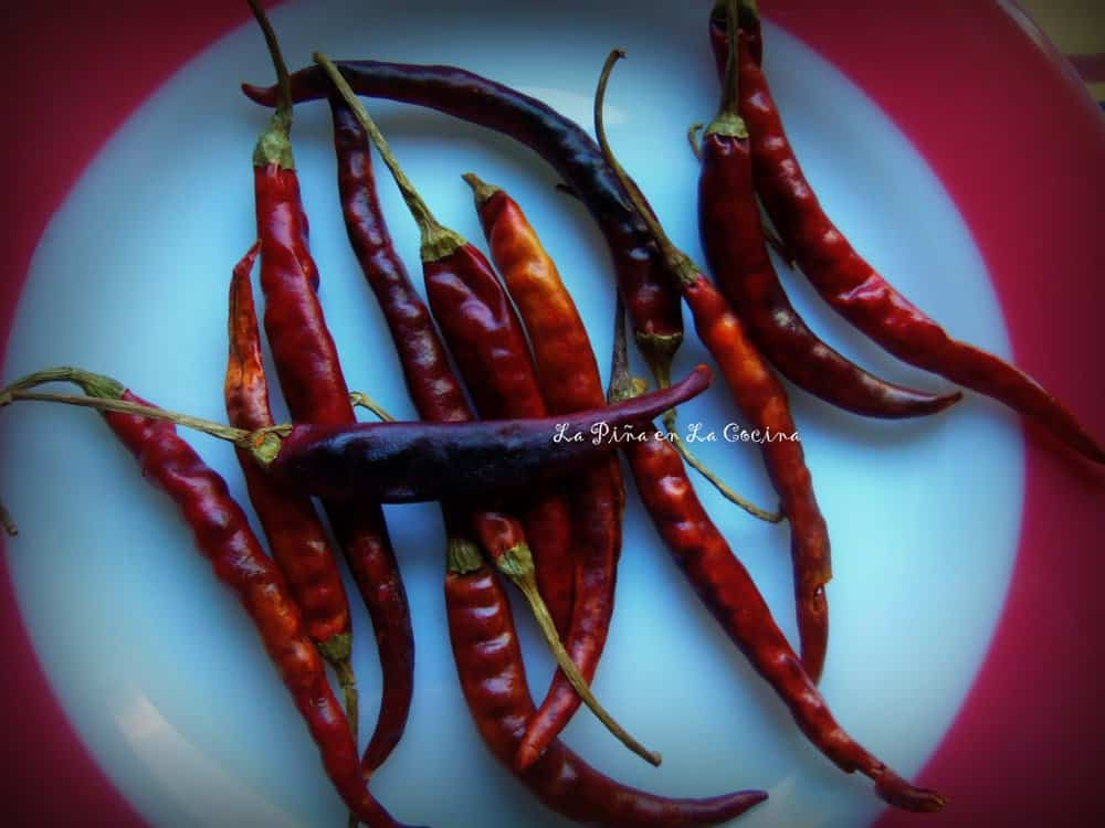 Dried Chile de Arbol