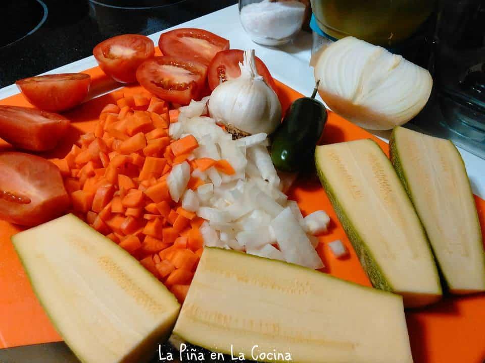 Arroz Caldoso Con Calabacitas(Soupy Vegetables and Rice) #arrozcaldoso