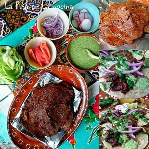 Carne Enchilada (Adobo Marinated Beef) #carneenchilada #adobo