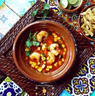 Caldo de Camarones(Shrimp Soup)