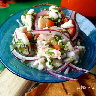 Easy Fish and Shrimp Ceviche