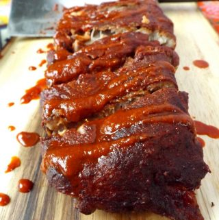 Pork Baby Back Ribs(Red Chile Sauce)