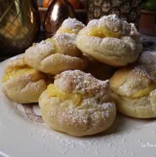 Pineapple Cream Puffs