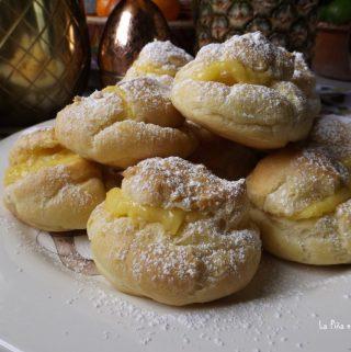 Pineapple Cream Puffs