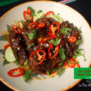 Spicy Adobo Chicken Wings