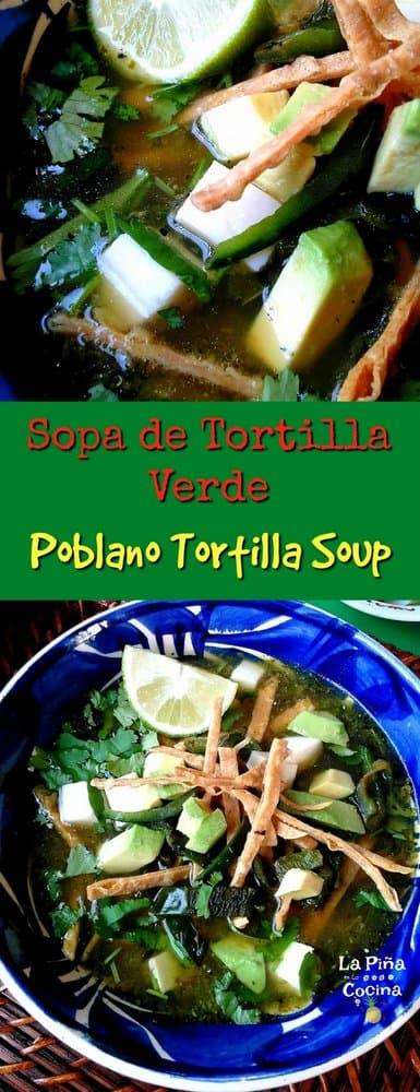 Pinterest long image of soup