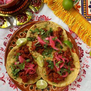 Pork Chilorio Tacos