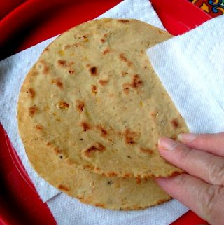 Tortillas de Elote Asado (Grilled Corn Tortillas)
