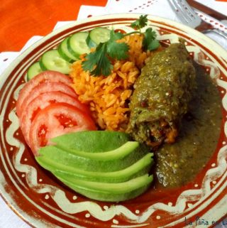 Bistec Enrollado Con Salsa (Beef Roulade)