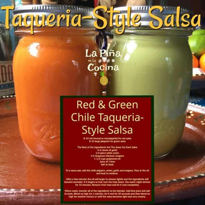 Taqueria-Style Salsa in Jars