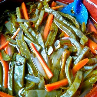 Nopalitos en Vinagré (Pickled Cactus)