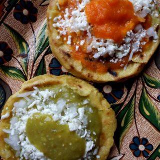 Picaditas (Corn Masa Cakes)