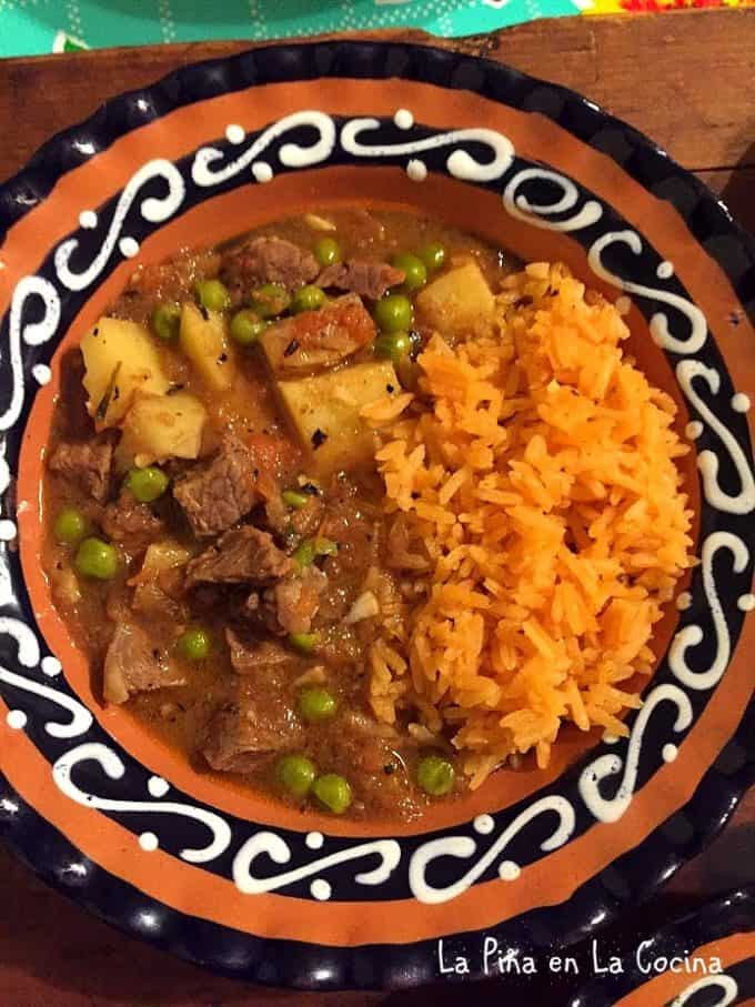 Cortadillo Norteno Mexican Beef And Potato Stew La Pina En La Cocina