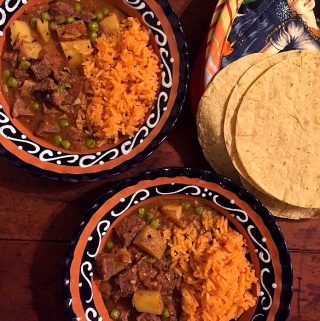 Cortadillo Norteño (Mexican Beef and Potato Stew)