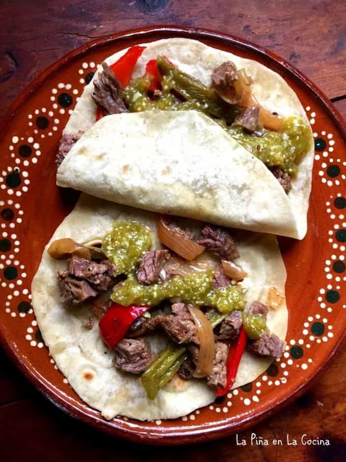 Easy Beef Fajitas. Carnitas de Res #fajitas #tacos #carnitasderes