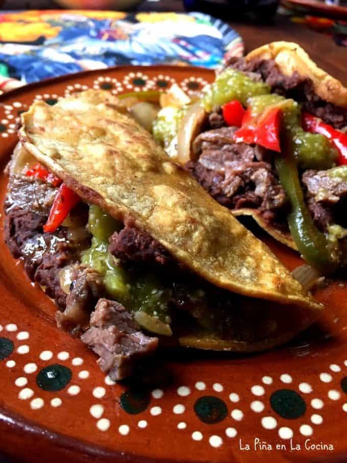 Easy Beef Fajitas. Carnitas de Res #fajitas #carnitasderes #tacos