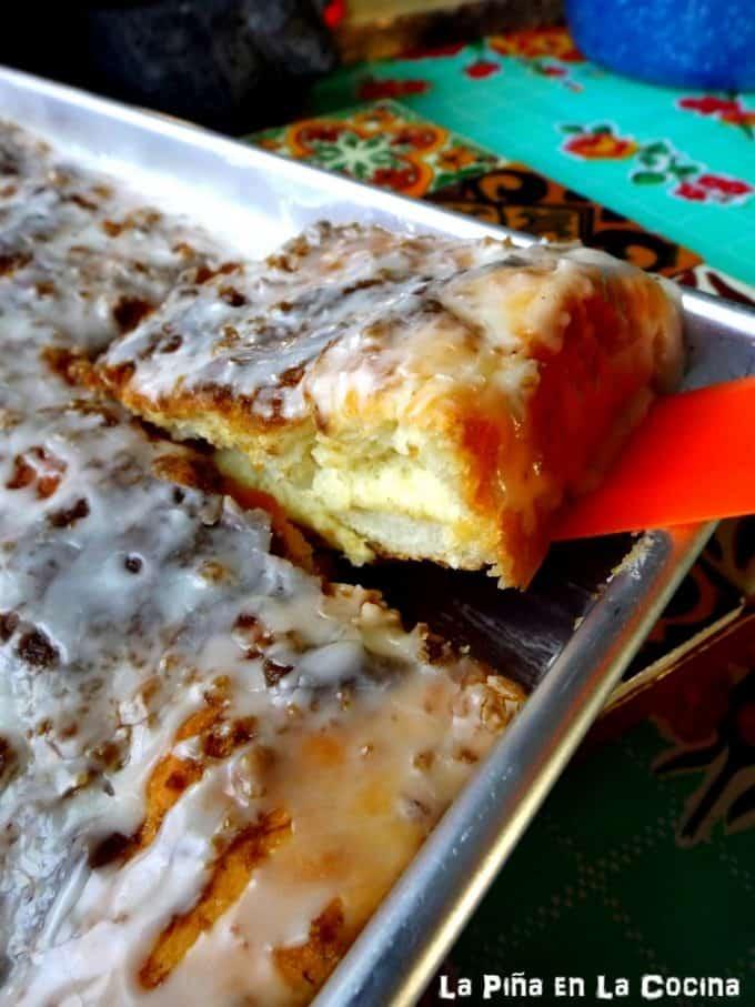 Square Sweet Rolls #sweetrolls #pandulce #baking