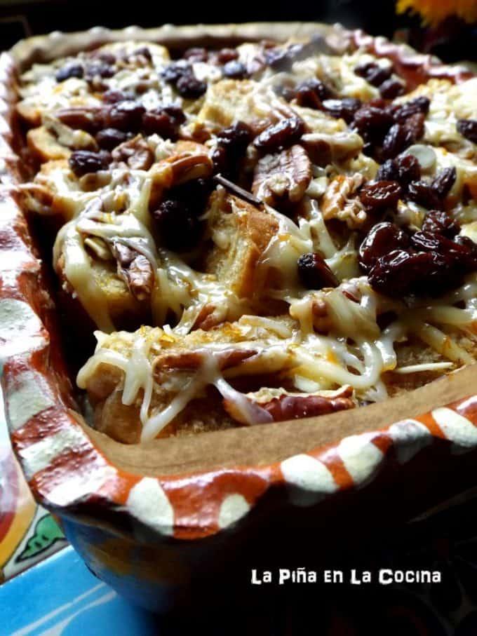 Capirotada (Mexican Bread Pudding) #capirotada