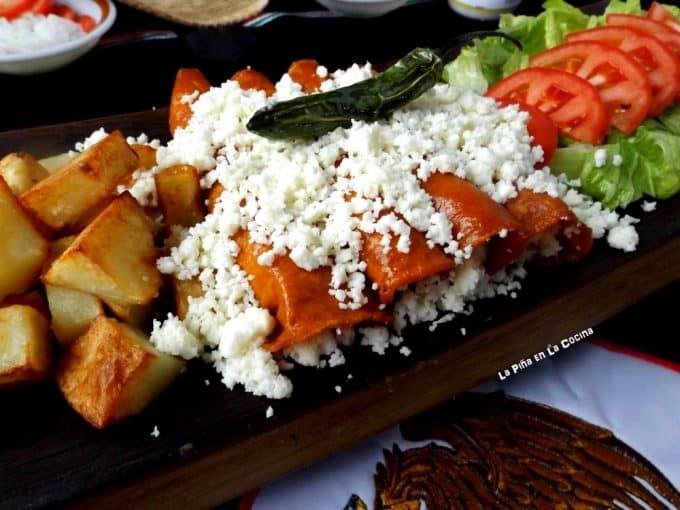 Easy Queso Fresco Enchiladas (Enchiladas de Queso) #lent #cuaresma