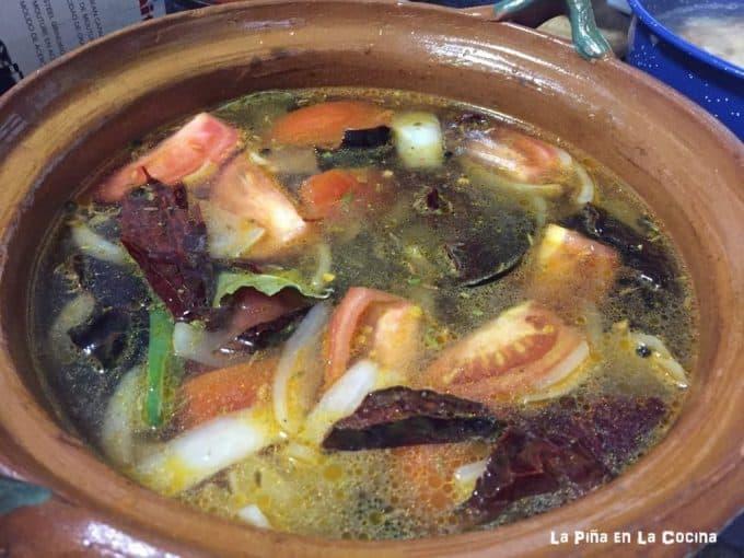 Caldo de Pescado y Camaron (Seafood Soup) #caldodepescado #fishsoup #lent #cuaresma