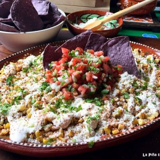 Toasted Esquites- Mexican Corn