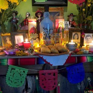 Dia de Los Muertos with Tequila Cazadores