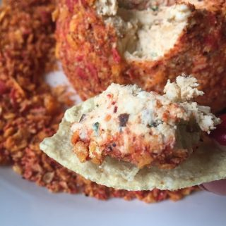 Chipotle Cheddar Cheeseball