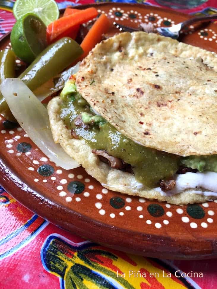 Mulitas De Carne Asada Quesadilla Stacked Taco La Pina En La Cocina These are filled with delicious and cheesy mashed potatoes and baked, for a soft inside and a perfect crunch outside. mulitas de carne asada