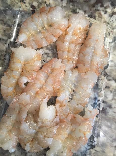 Coconut Habanero Shrimp Aguachiles