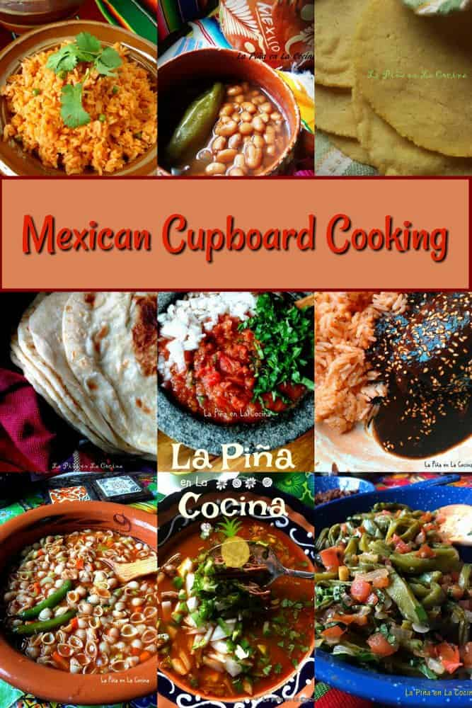 Mexican Cupboard Cooking Collage