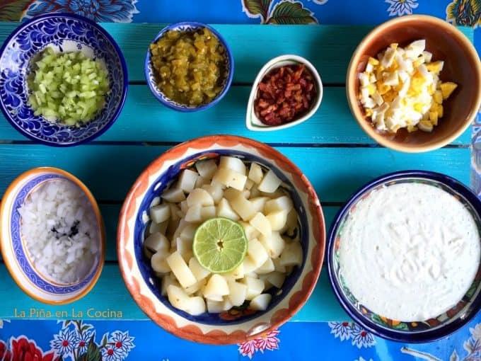 Jalapeño Bacon Potato Salad