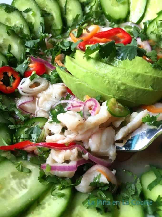 Spicy Fish Ceviche- Ceviche de Pescado