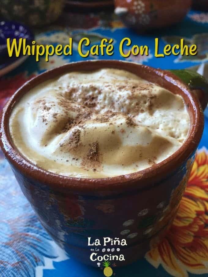 Whipped Café Con Leche