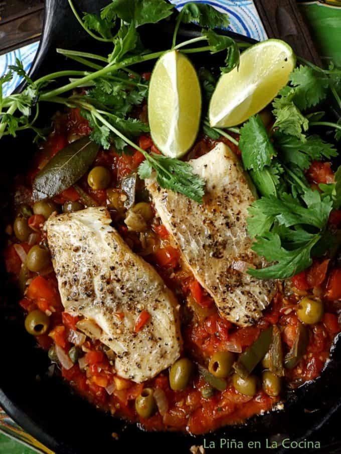 Veracruz-Style White Fish In The Clayware Pan