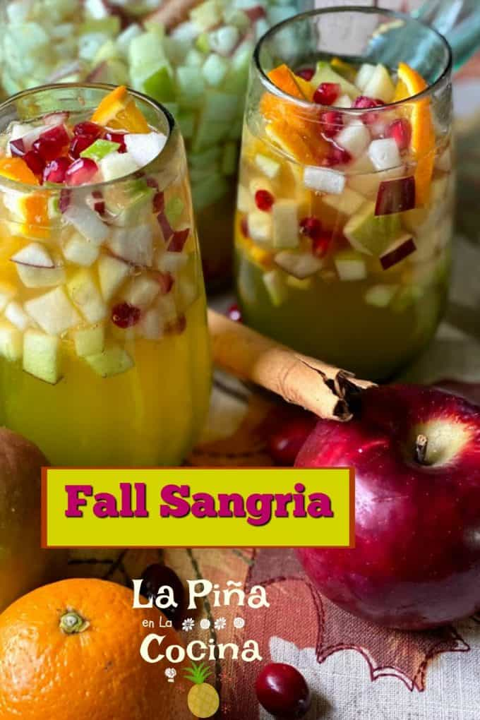 Fall Sangria Pinterest image with header
