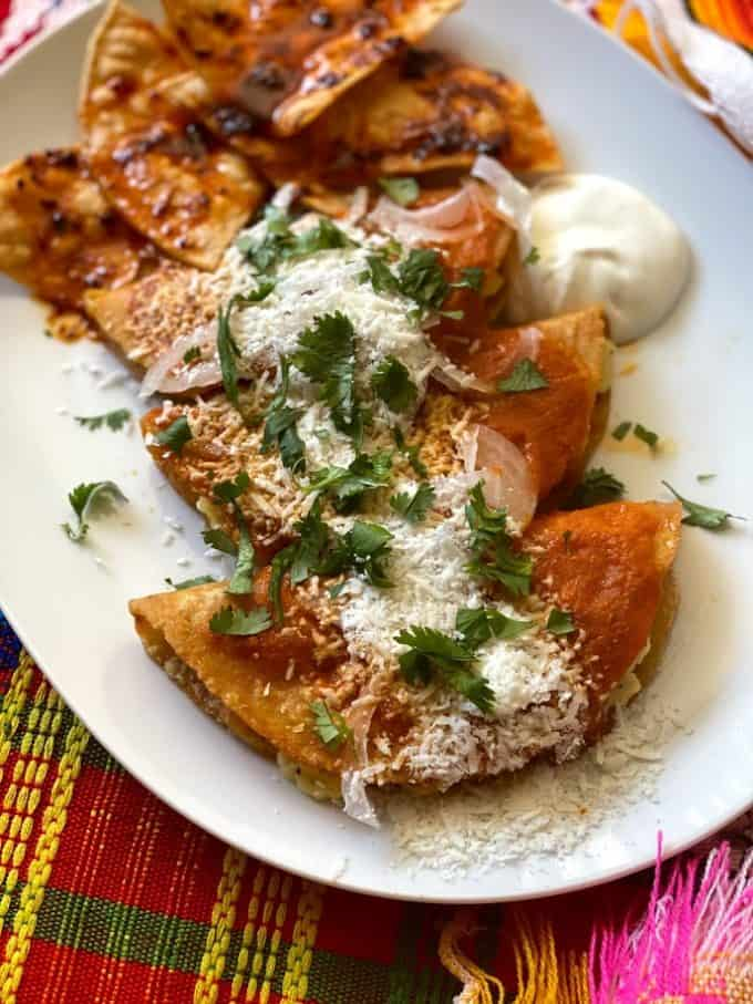 potato tacos Plated