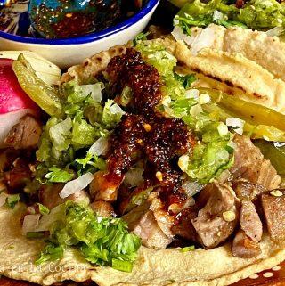 Sheet Pan Pork Carnitas Tacos